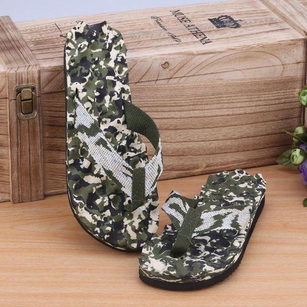 SAGACE shoes Flip-Flops Men Summer Camouflage Flip Flops Shoes Sandals Slipper indoor & outdoor Casual men 2018MA11
