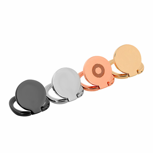 1 pezzo universale del telefono cellulare del basamento del telefono 360 supporto magnetico del supporto del basamento dell'anello di barretta adatto per il basamento di lusso del telefono della staffa dell'automobile