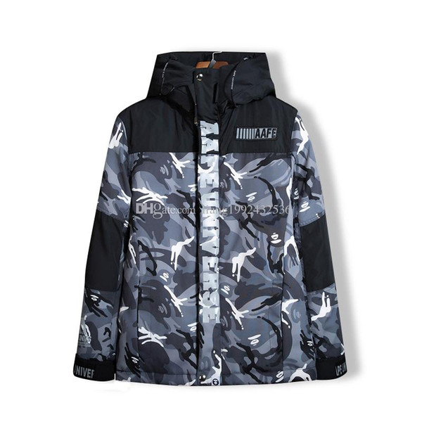 88363c64ba7b Autumn And Winter Men S Hooded Reflective Camouflage Jacket ...