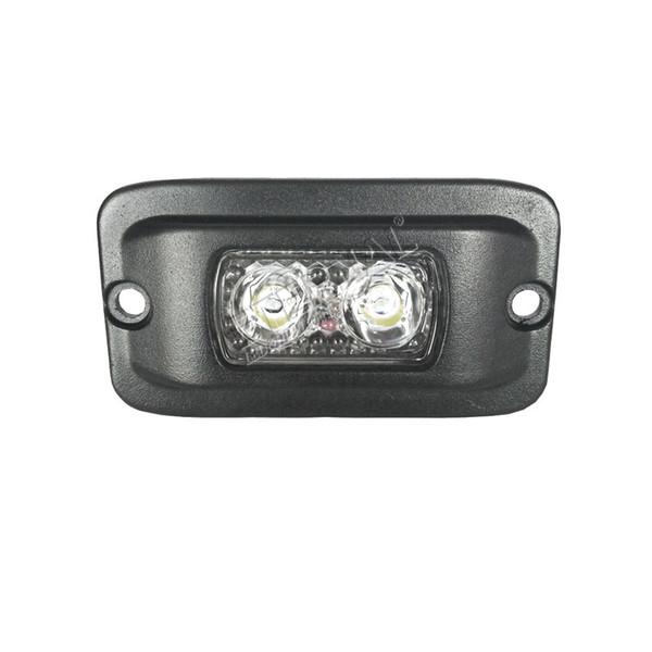 Livraison gratuite 20 pcs 3 pouces 10 W travail lumière mini bar brouillard sauvegarder pour 4x4 powersports moto camion remorque tracteur ferme des véhicules de l'agriculture