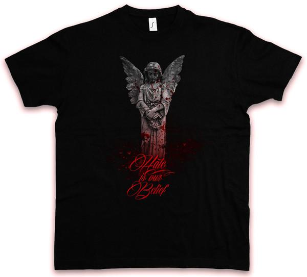 HATE ANGEL I HC HATE COUTURE футболка готический вампир темный Гот EBM кибер футболка смешная бесплатная доставка мужская повседневная
