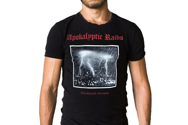 Apokalyptic Raids The Third Storm 2005 Album Cover T-Shirt