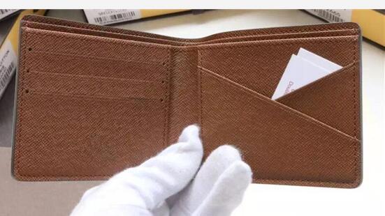 Fashion Male PU Leather wallet Casual Short Card holder pocket Fashion Purse wallets for Women men no Box