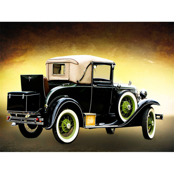 hot sale car diamond painting fruit diamond kits full cross stitch home decor Wall Art Painting gift free shipping