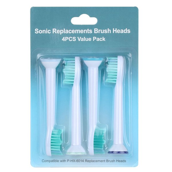 Testine spazzolino elettrico compatibili HX6014 6064 Soft Brush Heads per Philips Sonicare Testine di ricambio portatili Mini Brush head