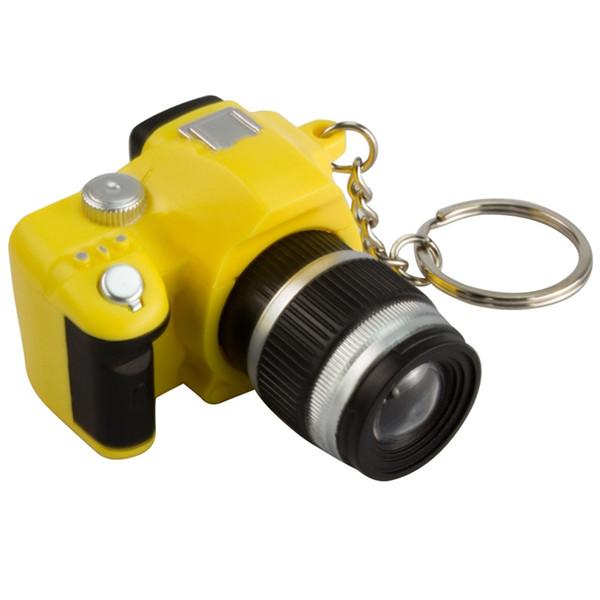 2018 LED Caméras Clés De Voiture Chaînes Jouets Son Lumineux Pendentif Poupée Cadeaux Caméras Light Up Jouets