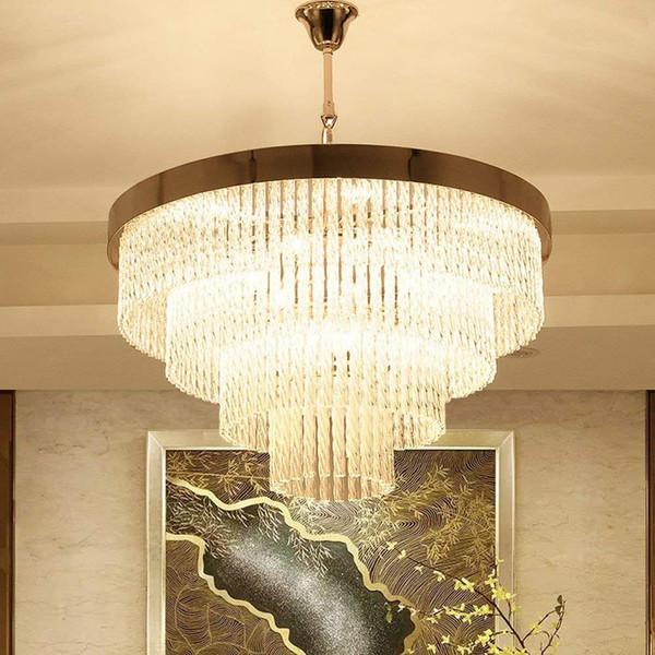 LED Neueste Stile Verdrehte Klarglas Gold Deckenleuchten Leuchte Lampen Kronleuchter Pendelleuchten Beleuchtung Mit Led-lampen wohnzimmer licht