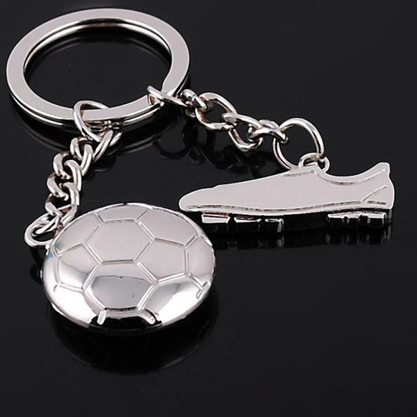 Soccer Keychains,Metal Football Boot Keychain Soccer Shoe Keyfobs Soccer Key Ring Sports Gift For Women And Men Fashion Accessorices G263Q