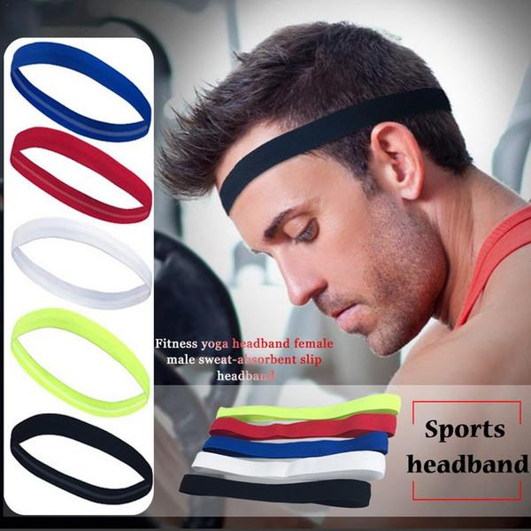 Eg /_ Damen Herren Stretch Stirnband Sport Sweat Schweißband Yoga Fitnessstudio