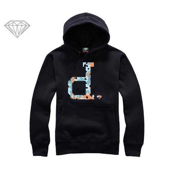 Diamond Supply hoodie for men free shipping diamonds hoodies hip hop brand new 2018 sweatshirt men's clothes pullover M11