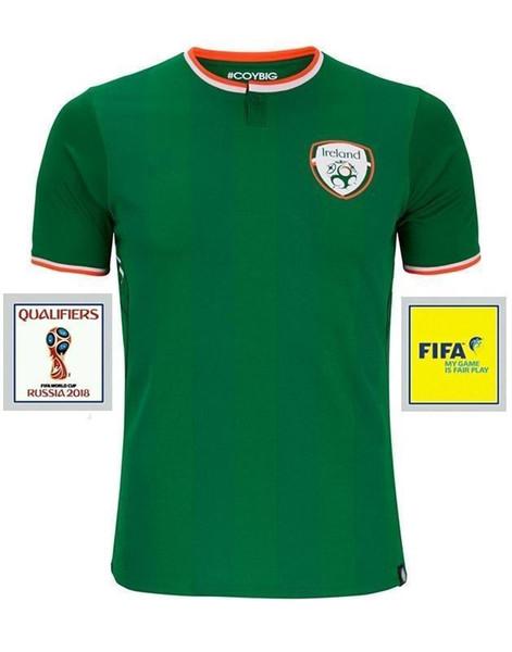 2018 Ireland soccer jerseys Thai quality Ireland national team jerseys 2018 World Cup Ireland KEANE Daryl home away Irish football shirts