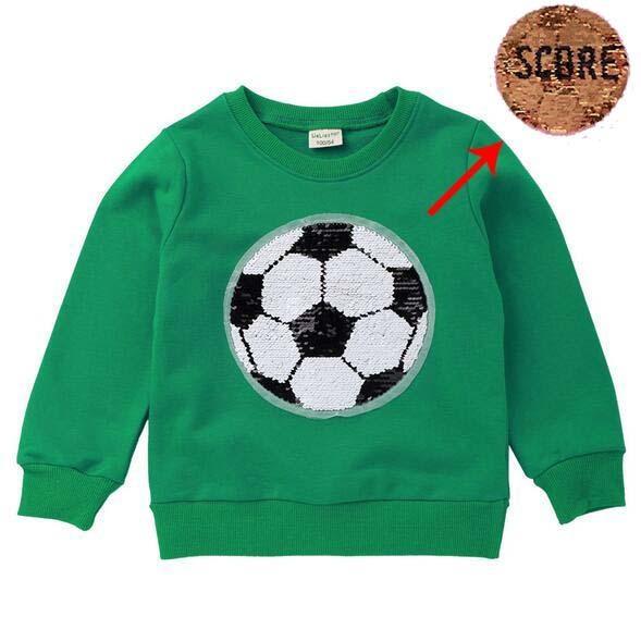 футбол зеленый