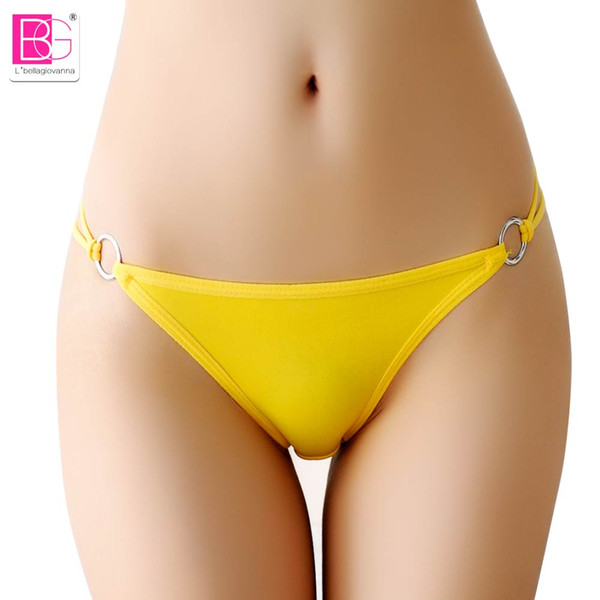 L'bellagiovanna Lingerie Women Bikini Ladies Sexy Thongs G-string V-string Panties Underwear Knickers Intimates Girl briefs 1311