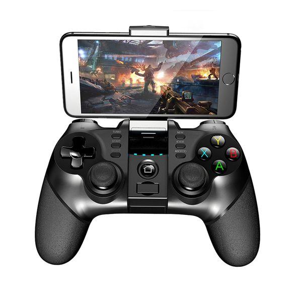 IPEGA PG-9077 Sem Fio Bluetooth Joystick Controlador de Jogo com Suporte Trecho para Android Smartphone TV BoxIPEGA 9077 Jogo Cont