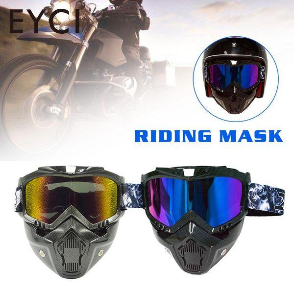 Máscara negra de TPU Máscara anti de la contaminación del montar a caballo Máscaras de ciclo del montar a caballo al aire libre portátiles