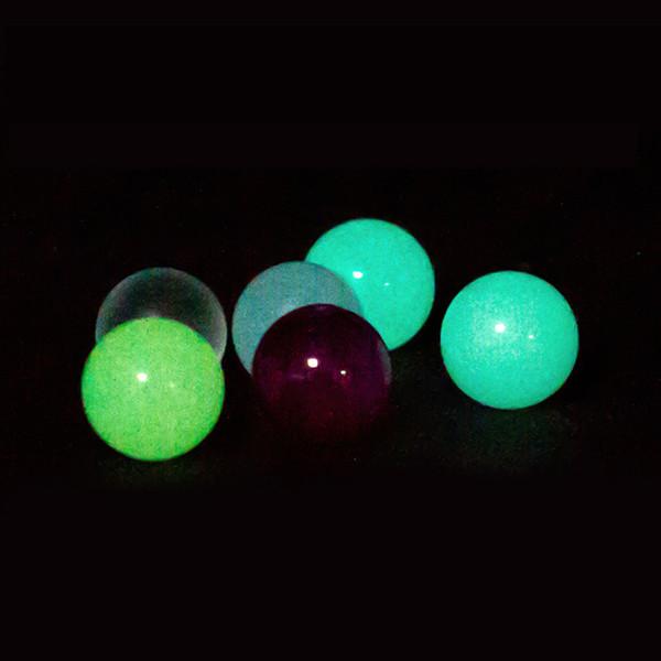 top popular Mini 6mm 8mm Quartz Terp Pearl Luminous Glowing colored pearls ball round For 14mm 18mm Quartz Banger Nails glass bongs dab rig 2019