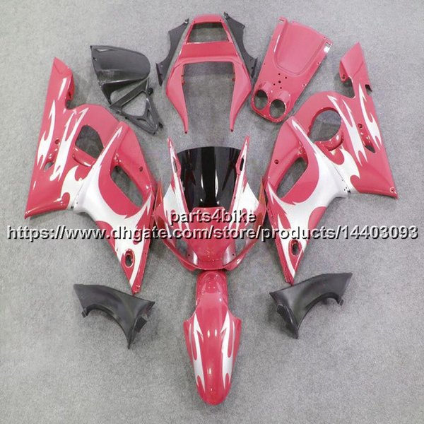 23colors + 5Gifts ABS Fairing para Yamaha YZF-R6 1998-2002 YZF R6 98 99 00 01 02 YZFR6 motocicleta Plastic Bodywork