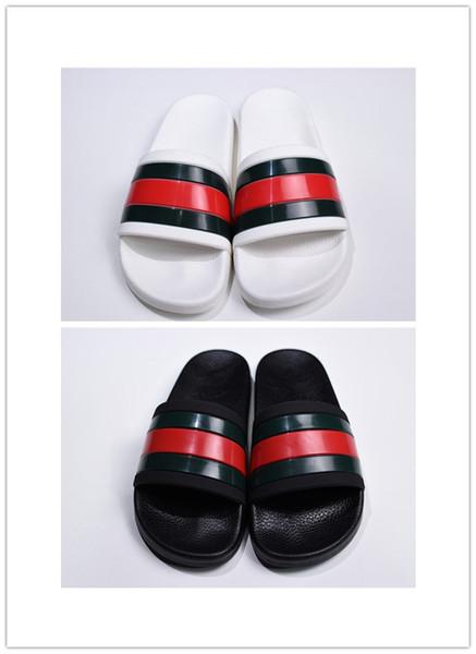NEUE Europa-Marken-Art und Weise Mensstriped-Sandalen verursachend rutschfeste Sommer huaraches Hefterzufuhren Flipflops Pantoffel BESTE QUALITÄT