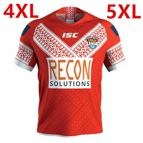 TONGA RUGBY LEAGUE 2019 HOME JERSEY