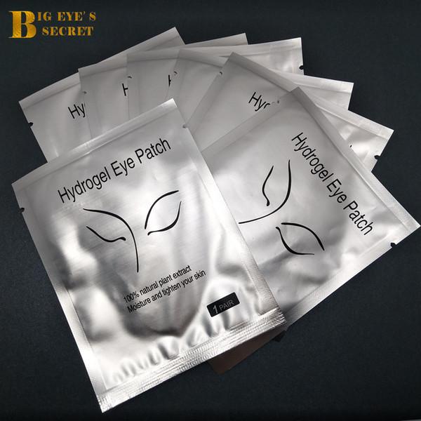 100 pairs/lot Eye Gel Patch Eye mask lint Free Eye patches Eyepads for eyelash Extension Makeup Beauty Tools Eyepad Wholesale Free Shipping