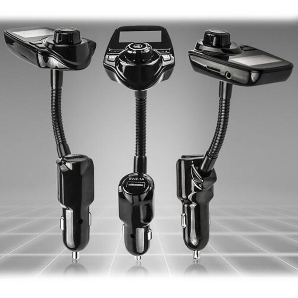 T10 беспроводной автомобильный MP3 Bluetooth автомобильные плееры LCD аудио стерео USB автомобильное зарядное устройство FM передатчик поддержка TF карт с розничной упаковке быстрая доставка