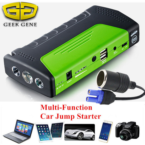 2018 Mini Car Jump Starter 12V Emergency Starting Device Power Bank Car Charger for Battery Buster Petrol Diesel
