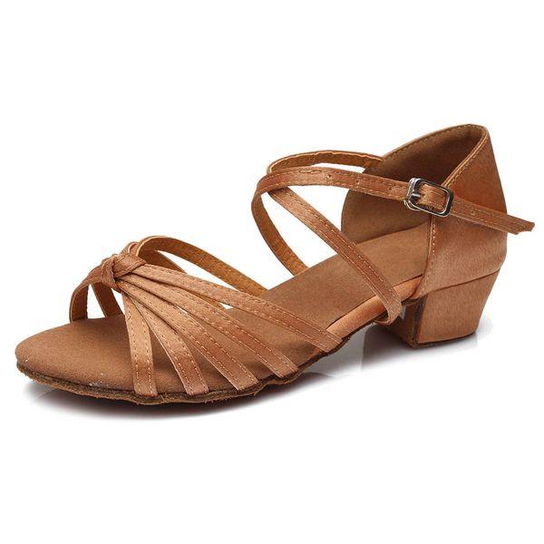 High quality ballroom latin dance shoes for children kids ladies women
