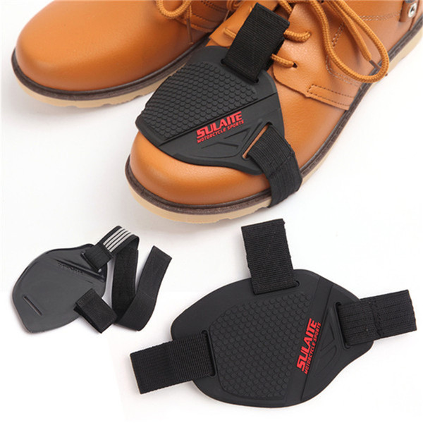 Antiskid Wearable Shoe Protector Cover for Motorcycle Shifter Black Portable Boot Shoes Protective Guard Motor Parts