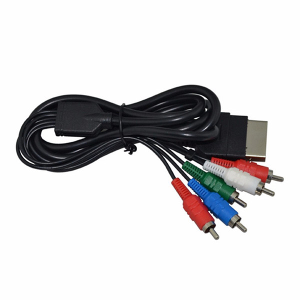 Yüksek Kaliteli HD TV Bileşeni Kompozit Ses Video AV Kablosu Kablosu Microsoft XBOX için İlk Nesil Için