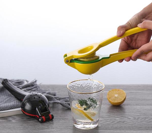 22*5*7.5CM Double Bowl Lemon Juice Squeezer Orange Tool Citrus Press Plastic Manual Juicer Kitchen Gadgets 50pcs