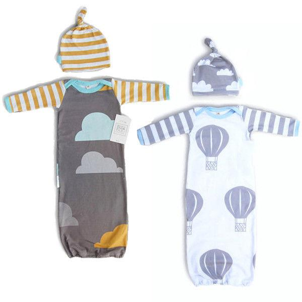 Cartoon Clouds Infant Warm Swaddle Sleeping Bag Baby Boy Autumn ... 7b8026fc1af