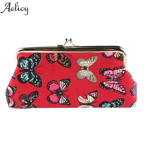 Aelicy Luxury Europe Style Wallet Women Vintage Animal Prints Women's Purses and Ladies Handbags Wallet Coin Clutch Phone Bag