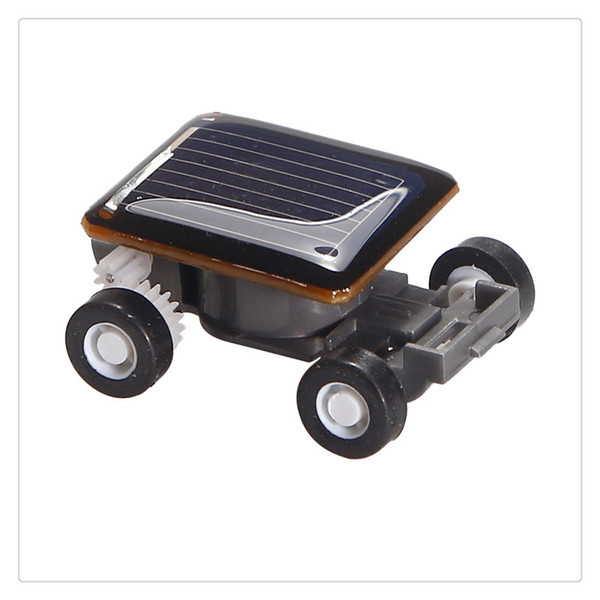 LeadingStar Worlds Smallest Solar Powered Car Educational Solar Powered Toy Great Kids Gift Suitable Boys High Quality