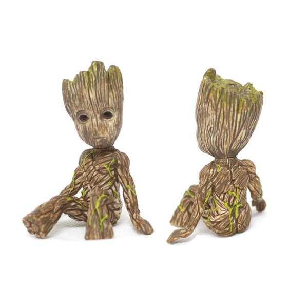 Guardians Of The Galaxy 2 Tree Man Baby Sitting Collectible Toy Cartoon Mini Model Action Figure Doll Toys Funny Collection