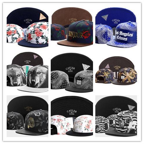 New Fashion free shipping cayler and sons snapback hats snapbacks caps snap back hat baseball basketball Adjustable cap 10