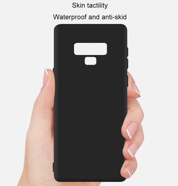 Cellphone case for Samsung Galaxy Note 9 soft colorful TPU fitted case cover with retail package and free shipping