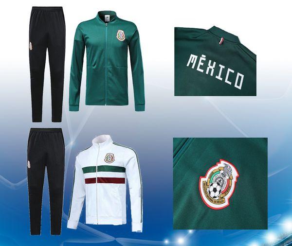 camiseta de fútbol de alta calidad chaqueta de fútbol de México Chándal de  México CHICHARITO equipo 0db5cb9db023c