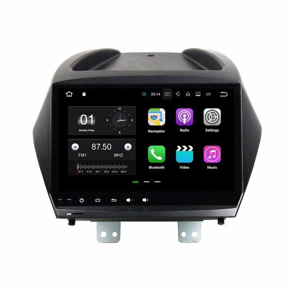 "Quad core 2 din 9"" Android 7.1 Car DVD Player for Hyundai Tucson IX35 2011-2015 With 2GB RAM GPS Radio Bluetooth WIFI 16GB ROM"