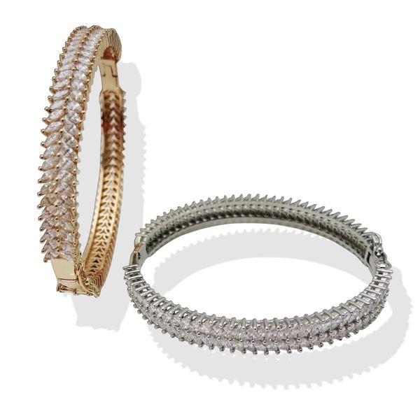 Gold Silver Bangles For Women Men Hand Fashion Jewelry designer luxury love bracelet