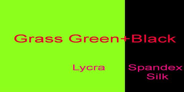 Трава зеленый + черный