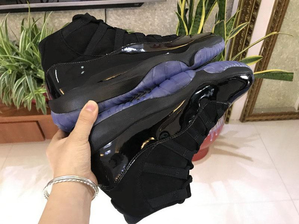 2018 Newest hottest 11 Cap and Gown 11S Basketball Shoes For Men Authentic Real Carbon Fiber Sports Sneakers With Original Box 378037-005