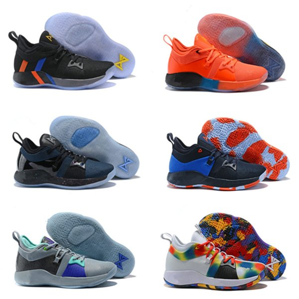 info for 899df 2ba4c 2018 High Quality PG2 PS4 Black BLue PG 2s Athletic Shoes Paul George 2  Basketball Shoes Us7 12 Best Youth Running Shoes Kids Running Gear From ...