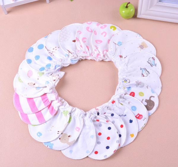 Soft cotton newborn baby boys girls infant anti scratch mittens gloves handguard 0-6M infants daily necessities