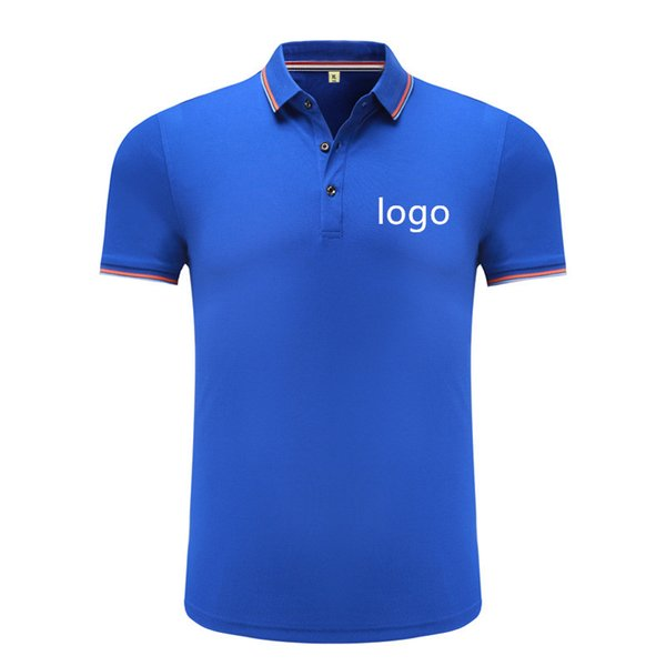 Custom Embroidered pique  shirt with your own text design customized high quality uniform  for company logo work wear