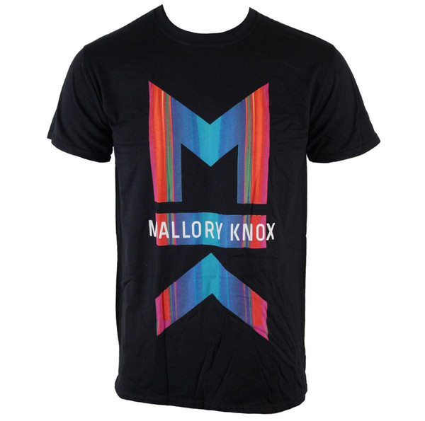 Herren T-Shirt Mallory Knox - Asymmetrie - ROCK OFF T Shirt Casual Short Sleeve for Men Clothing Summer Top Tee Plus Size