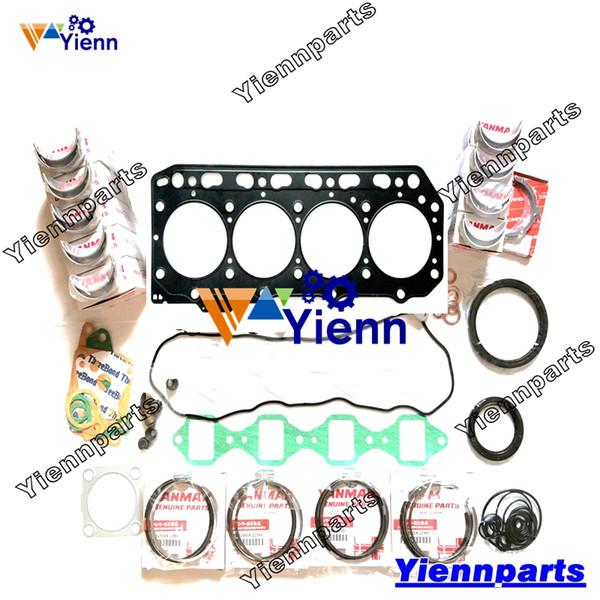 4TNE84 4TNE84-EKRV 4TNE84-MTCB Überholungs-Wiederaufbausatz für Yanmar-Motor CA475GEX CA525D Mähdrescher TYV40TBS YEG20TL Generatorring-Lagerdichtung