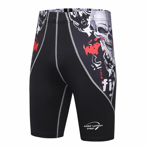 Wholesale- Mens Shorts Stretch Compression Quick Dry Slim Fit Utility Shorts Summer Thermal Base Layer compression shorts men