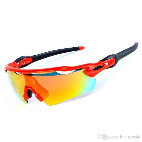 5e127b9af3b Cross Country Skiing Spectacle Radar Windproof Lens Gradient Color Utdoor Sports  Riding Mountain Bike Eyewear Cycling Supplies 44 55sm ff