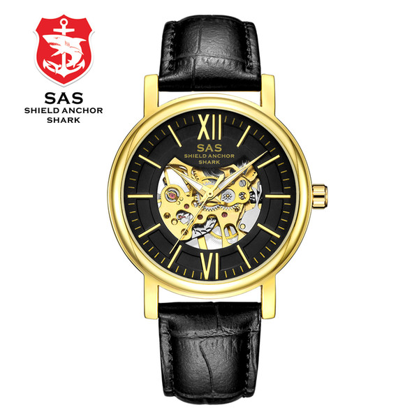 DHL Wholesale SAS Fashion Luxury Automatic Mechanical Men Women Waterproof Military Sport Watches Mens Analog Wrist Watch relogio masculino