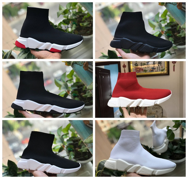 Speed Trainers Luxury Sock Shoe Sneakers Speed Trainer Sock Race Runners black Shoes men and women Outdoor Shoes Speed Trainer Casual Shoes